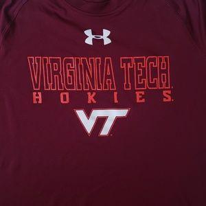 Under Armour Shirts - VT Virginia Under Armour Tech Men's Heat Gear